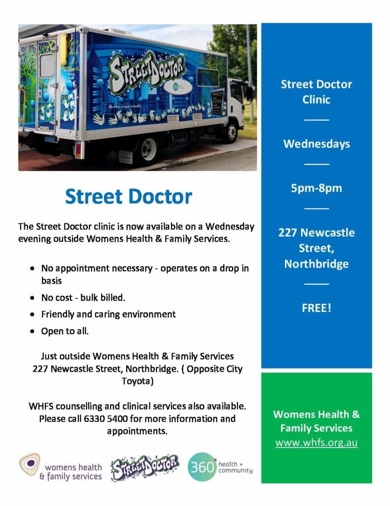Click Here to view the Street Doctor flyer