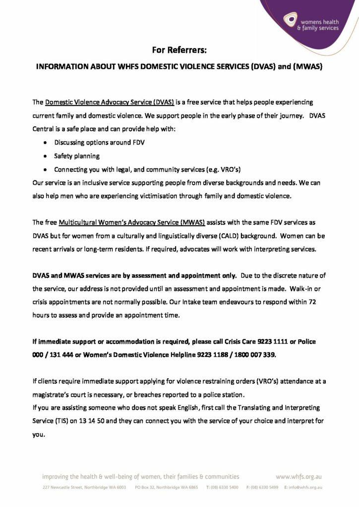 MWAS Referral Form (Editable PDF)